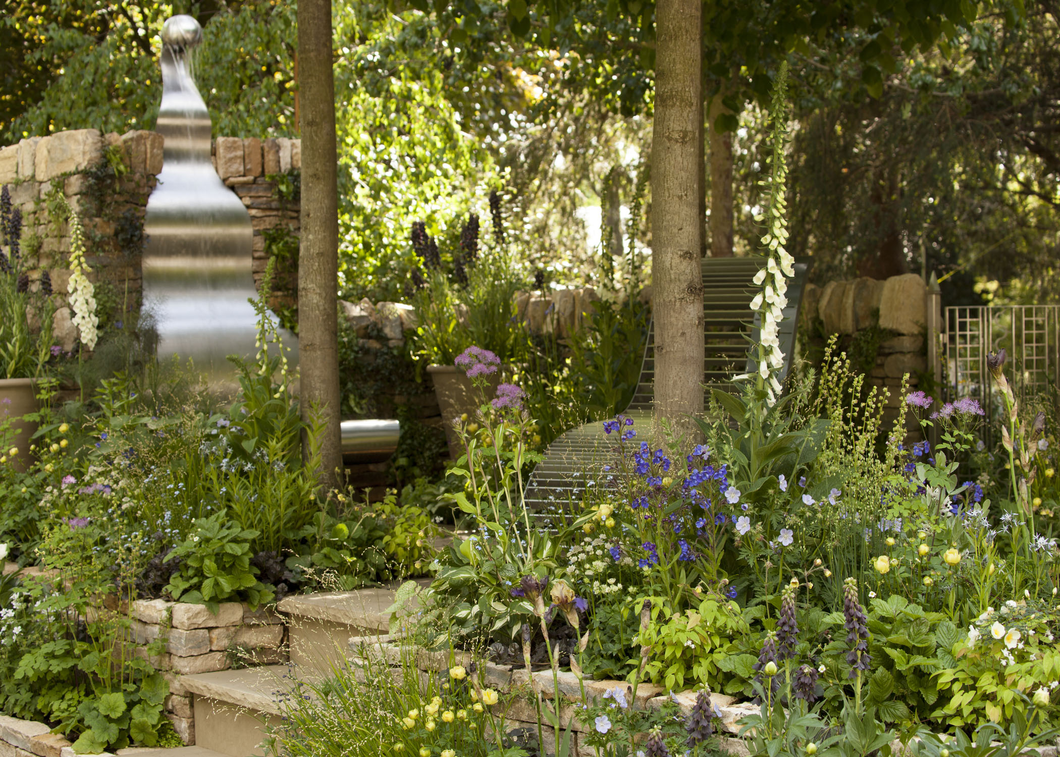 poetry lover's garden scoops silver medal
